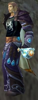 Talisman of Scourge Command, Stone Background, Human Male