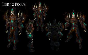 Tier 12 Rogue Armor
