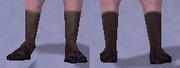 Bluegill Sandals, Snow Background, NE Female