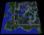Theramore Isle A Blaze of Glory Map