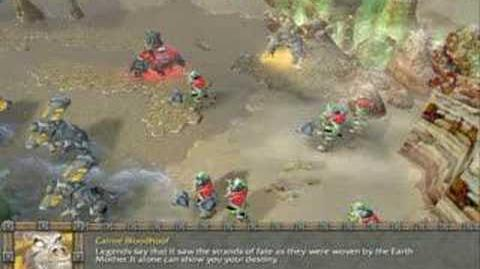 Warcraft 3 Reign of Chaos Orc campaign cinematics 2 6