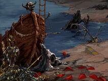 Crestfall shipwreck, Warcraft Adventures