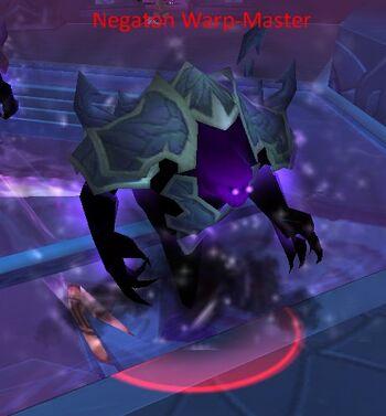 Negaton Warp-Master