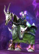 Green Skeletal Warhorse