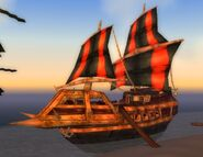 Scarlet ship Lights Point