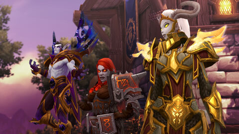 Battle for Azeroth - Allied races 1