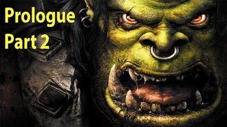 Warcraft 3 Gameplay - Prologue Part 2 - Departures