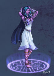 Young Tyrande Whisperwind by pulyx