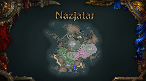 World of Warcraft Nazjatar map 8.2.0 - Blizzcon 2018