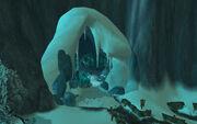 Frostmourne Cavern entrance