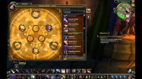 Prime Major Minor Glyphs HD - World of Warcraft Cataclysm