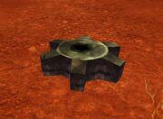 Dark Iron Mole Machine Wreckage