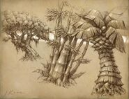 Lost Isles flora concept art