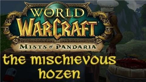 Mists of Pandaria - The Mischievous Hozen
