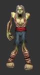 Zombie arm white