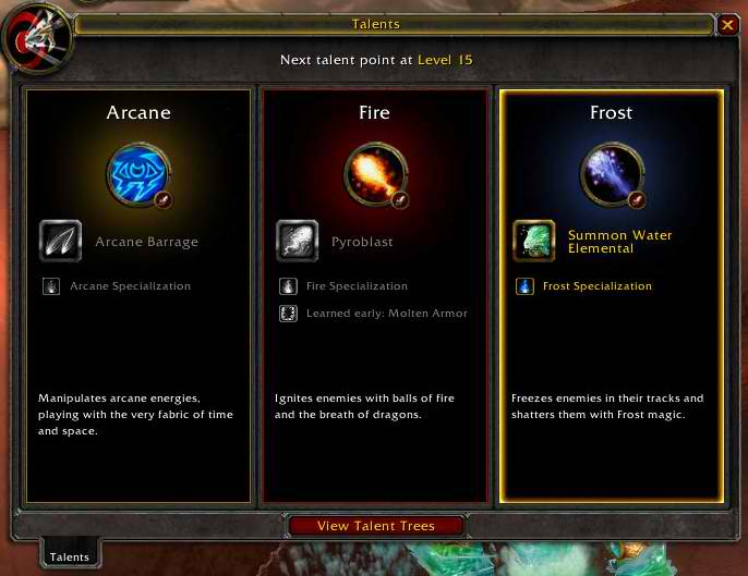 Choosing a class specialization | WoWWiki | FANDOM powered