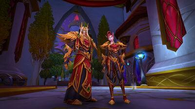 Heritage Armor - Blood elves - World of Warcraft