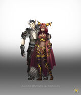 Alexstrasza and Krasus