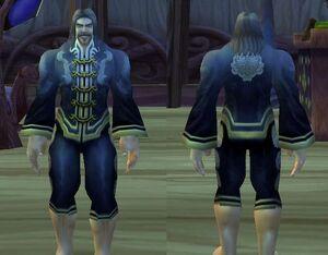 Jintetra Festive Black Pant Suit