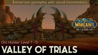 Valley of Trials Questline n' Trivia Playthrough World of Warcraft 4K
