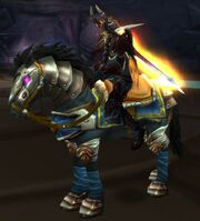 Black War Steed