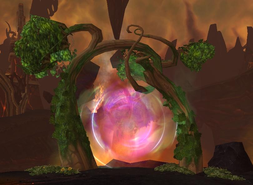 Portal To Mount Hyjal Wowwiki Fandom Powered By Wikia