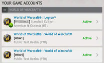 YOUR GAME ACCOUNTS-with BfA Beta