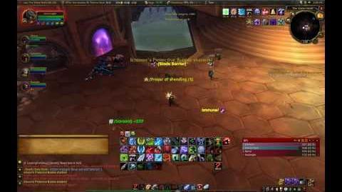 Ichoron Dehydration - Heroic Violet Hold (DK Tank)