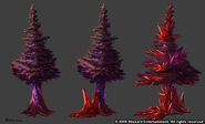 Bloodmyst Trees