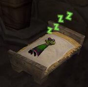 Sleeping undead