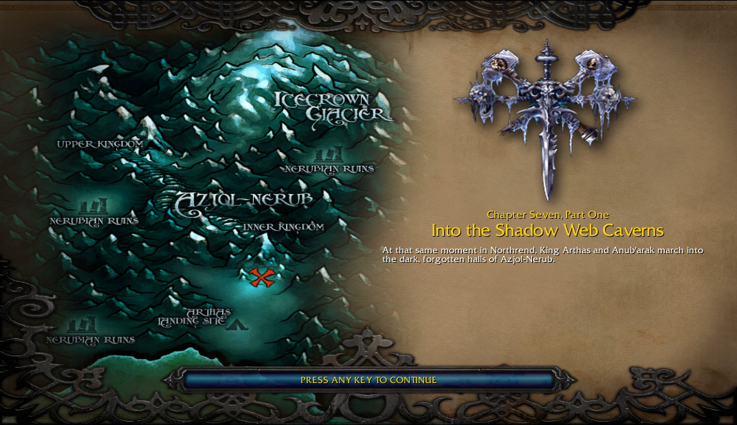Into the Shadow Web Caverns | WoWWiki | FANDOM powered by Wikia Download Maps For Warcraft Frozen Throne on