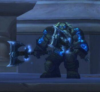 Lightning Charged Iron Dwarf