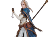 World of Warcraft Jaina Statue