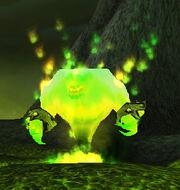 Enraged fire spirit