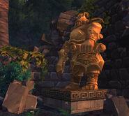 Mogu statue