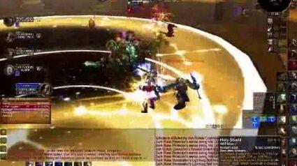Paladin Tanking Ulduar Halls of Stone - World of Warcraft