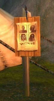 Wanted Board
