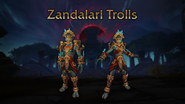 World of Warcraft Zandalari Troll heritage armor Blizzcon 2018