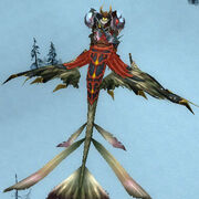 Sunreaver Dragonhawk Mount behing