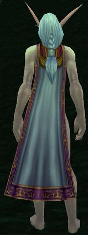 Bloodbane Cloak, Grass Background, NE Female