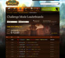 Challenge Mode Leaderboard
