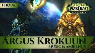 Argus, Krokuun - Music & Ambience (1 hour, 4K, World of Warcraft Legion Shadow of Argus 7.3)