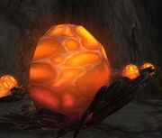Massive Glowing Egg
