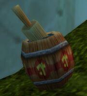 Suspicious Barrel