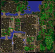 A New Power in Lordaeron Map