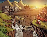 Thandol Span comic