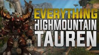 Highmountain Tauren - Customization + Tattoos, Racials, Druid Forms & Much More! - Horde Allied Race