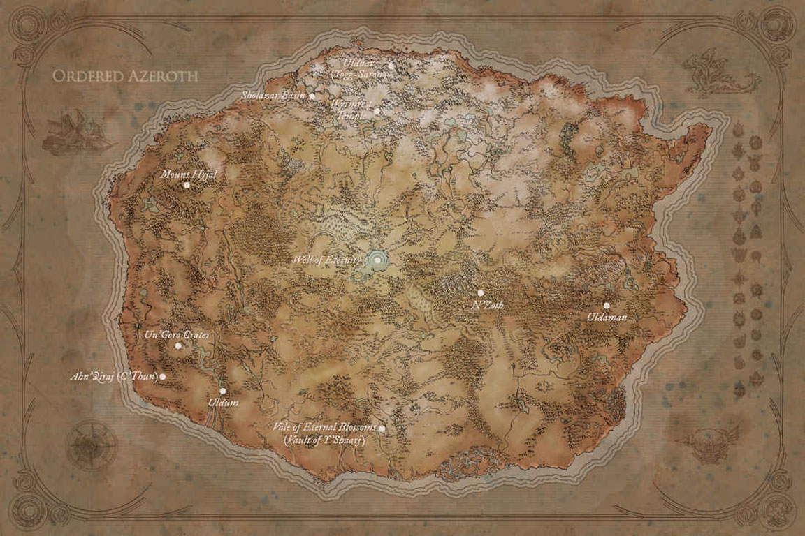 Map World Mouments%0A Kalimdor
