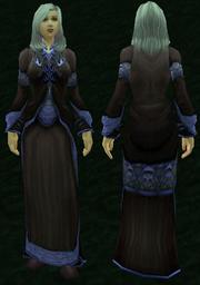 Netherweave Robe, Grass Background, Human Female