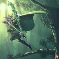 Night elf hunter